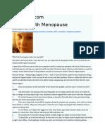 Thirdage.com Coping With Menopause