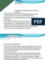 CIENCIA POLITICA 4 Politicas Del Estado