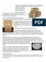 Reciclaje Del Cartón