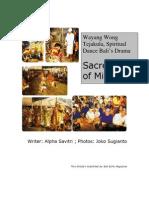 Wayang Wong Tejakula Bali's Sacred Dance- PDF