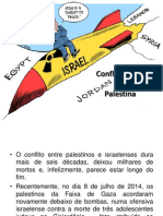 Conflito Israel Palestina