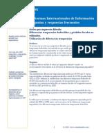 Activo Por Impuesto Diferido, Diferencias Temporales Deducibles y Perdidas Fiscales No Utilizadas
