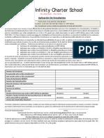KIPP Infinity - 2010-11 Student Lottery Application - Spanish