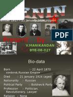 Vember 1917–21 January 1924 Communism
