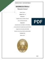 Informe de física 2 - Dilatación Térmica
