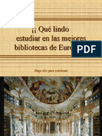 Bibliotecas de Lujo en Europa