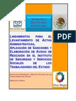 Lineamientos Acta Admon