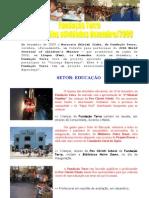 RESUMO ATIVIDADES DEZEMBRO - 2009
