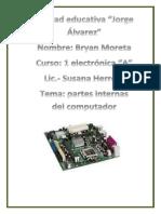 Componentes Internos de Una Computadora