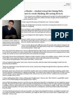 Cory Henson Profile - Data Master