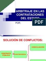 Arbitraje en Las Contrataciones Del Estado