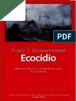 Texto Ecocidio