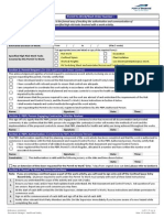 Permit to Work Form Updated