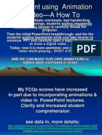 Powerpoint Animation How To