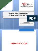 CLASE PARA DISEÑO DE MURO DE CONTENCION.pptx