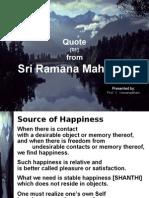 20100104 - Quote From Sri Ramana Maharshi - 01 -