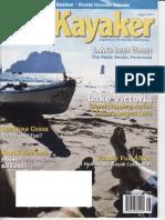 Sea Kayaker August 2011