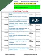 Ieee 2014-2015 Matlab Projects Titles List Globalsoft Technologies