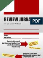 Review Jurnal Sdm Ppt
