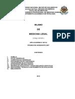 Medicina Legal 2012
