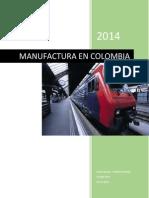 Manufactura en Colombia