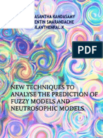 New Techniques to Analyse the Prediction of Fuzzy Models