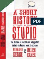 Bernard Keane & Helen Razer - A Short History of Stupid (Extract)