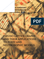 Pseudo Lattice Graphs and their Applications to Fuzzy and Neutrosophic Models