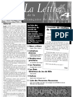 La Lettre de la FFJdR n.4 - août 1998
