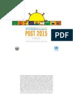 Informe- El Salvador - Diálogos Sobre La Localización de La Agenda Post 2015