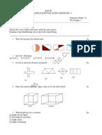 Class 3 ICSE Maths Sample Paper Term 2 Model 2
