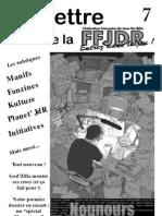 La Lettre de la FFJdR n.7 - septembre 1999