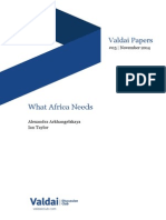 What Africa Needs?