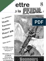 La Lettre de la FFJdR n.8 - décembre 1999