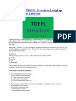 Soal Dan Jawaban Test Toefl Test Of English As A Foreign Language