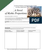 Big Fish A Novel Of Mythic Proportions Pdf