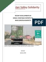 Jordan Valley Solidarity REPORT Israeli Vegetable Exports to EU - CARMEL