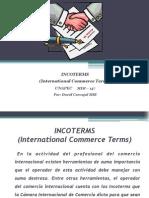 INCOTERMS International Commerce Terms Por David Carvajal MCI-3