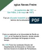 Paulo Reglus Neves Freire