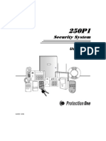 250p1 PROTECTION ONE SYSTEM INSTRUCTIONS