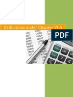 Deductions Under Chapter VI A