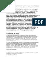 El Acuerdo de Complementación Económica No.doc