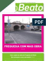 """Edição de Outubro de 2009 do Boletim Informativo """"O Beato"""""""