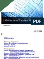 Cad Interface
