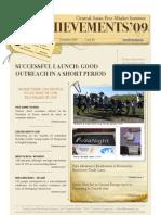 Achievements'09