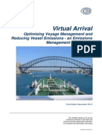 Virtual Arrival Information Paper-Intertanko