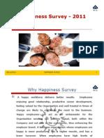 Happiness Survey 2011