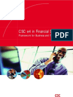 CSC e4 in Financial Services