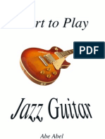 Start to Play Jazz Guitar Basic Skills