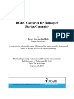 DC-DC Converter for Helicopter Starter Generator